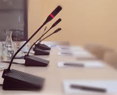 sewa mic deleget, persewaan mik rapat meja, penyewaan microphone delegates